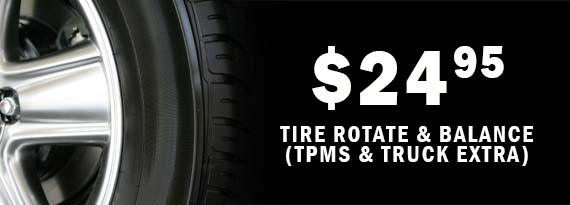 Synergy Coop Tire Auto Center Promotions 24 95 Rotate Balance